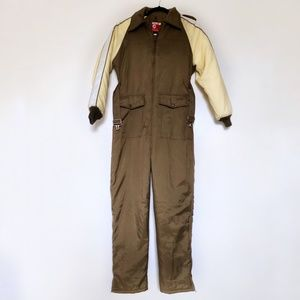 JC Penney Vintage Snow Suit Small Snowmobile Appar
